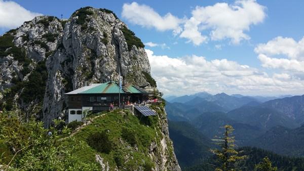 Blick zur Tegernseer Hütte