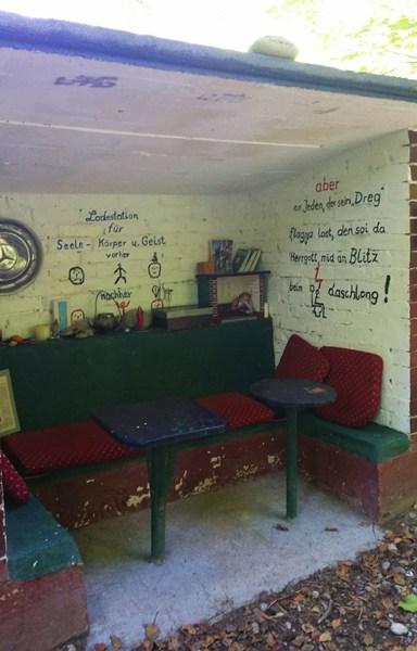 Das Sorgen-Weg-Schreib-Häusl