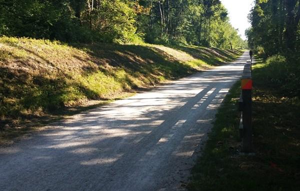 """Der """"normale"""" Rad- und Wanderweg an der Isar"""