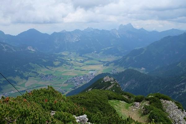 Blick ins Tannheimer Tal/ Tirol