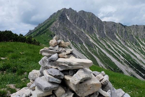 """""""Gipfel"""" des Zirleseck"""