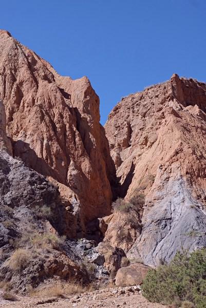 Ramblas de los Yesos, ein kleiner Verwandter des Grand Canyon