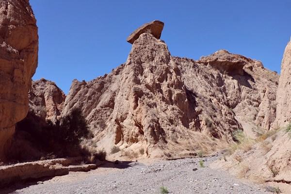 Feen-Kamin in der Sierra Nevada/ Spanien