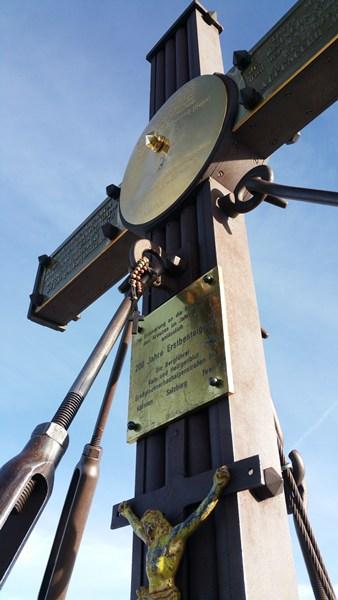 Das Gipfelkreuz des Großglockners