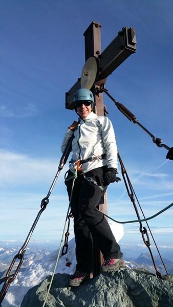 Am Großglockner Gipfel!