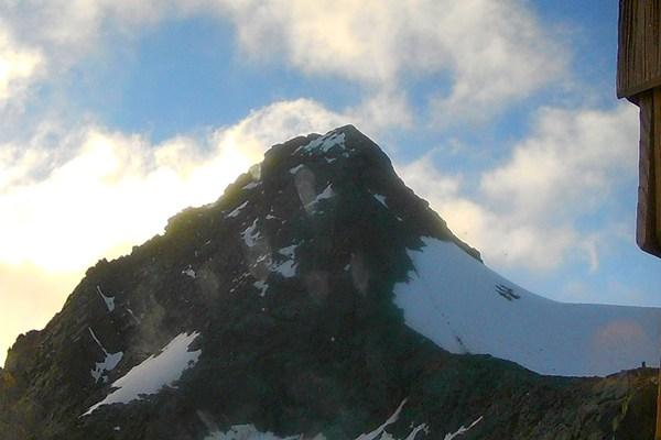 Blick hinauf - zum Großglockner Gipfel