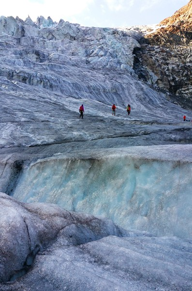 Gletscherglück, im Kaunertal in Tirol