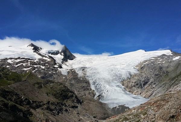 Gletscherblick vom Gschlößtal