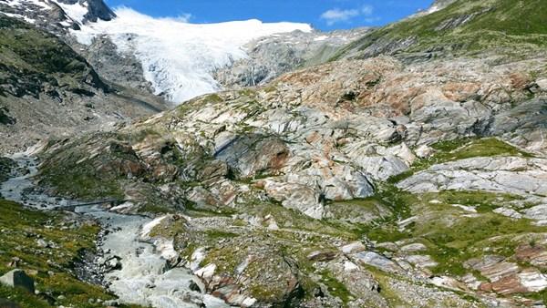 Auf dem Weg zum Schlatenkees in Osttirol