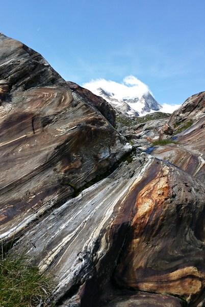 Wo der Gletscher verschwindet, hinterlässt er neue Naturschönheiten