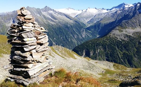 Gipfelbuch: Hoher Riffler (3.231m) im Zillertal