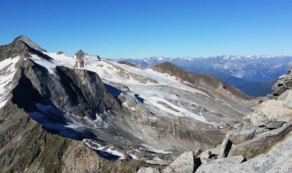 Aussicht Richtung Zugspitze