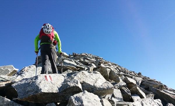 Wanderführer schreiben: hier bitte zum Gipfel tänzeln...