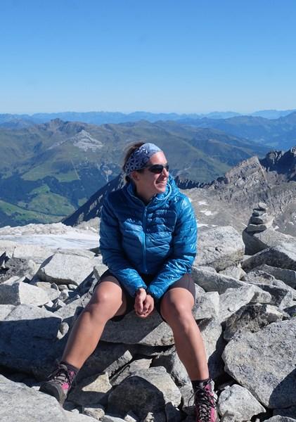 Gipfelglück am Hohen Riffler