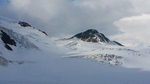 Gletscher und Berge im Pitztal