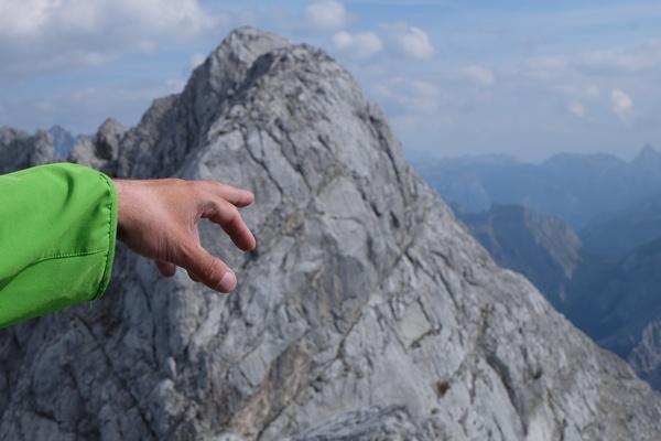 Gipfel bestimmen auf dem Kammerlinghorn