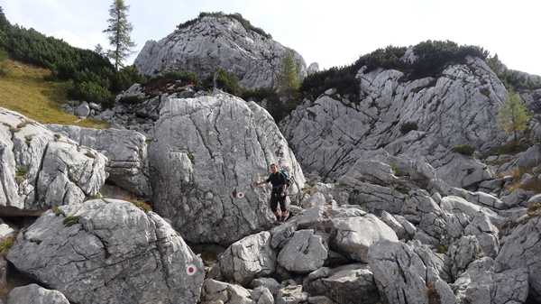 Alternativer Abstieg vom Kammerlinghorn