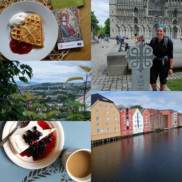 Trondheim, das Ziel der Pilger auf dem Olavsweg