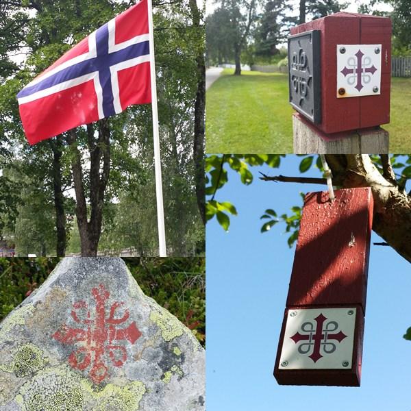 Immer Richtung Trondheim. Mitten durch Norwegen.