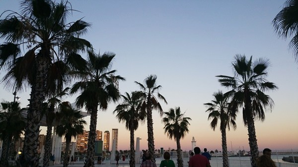 Malaga - Großstadt am Rande der Sierra Nevada, am Meer. Kontrastprogramm zu den 3000ern.