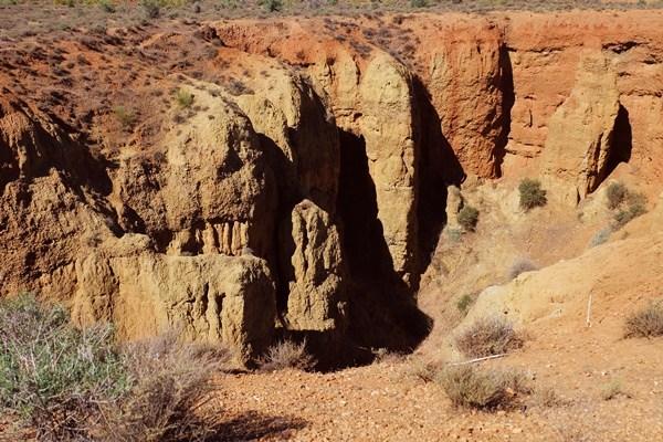 Spanische Canyons: Alcudia de Guadix