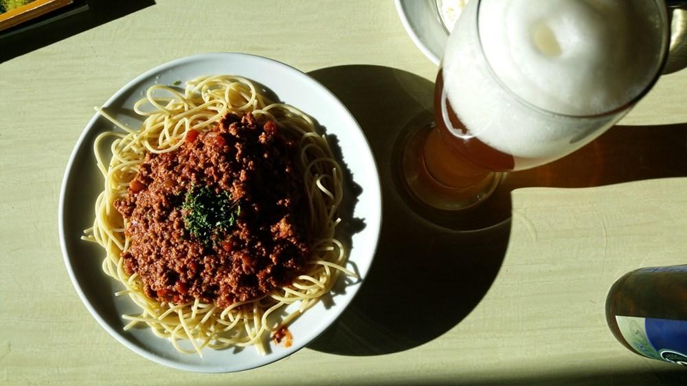 Abendessen auf der Erzherzog-Johann-Hütte