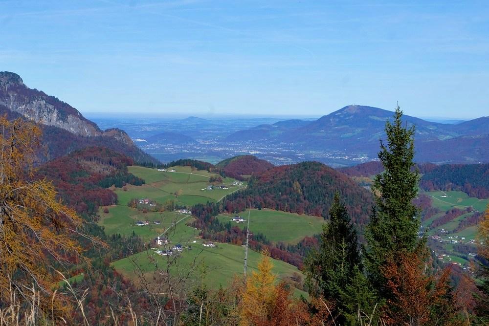 Blick auf Salzburg von der Kneifelspitze