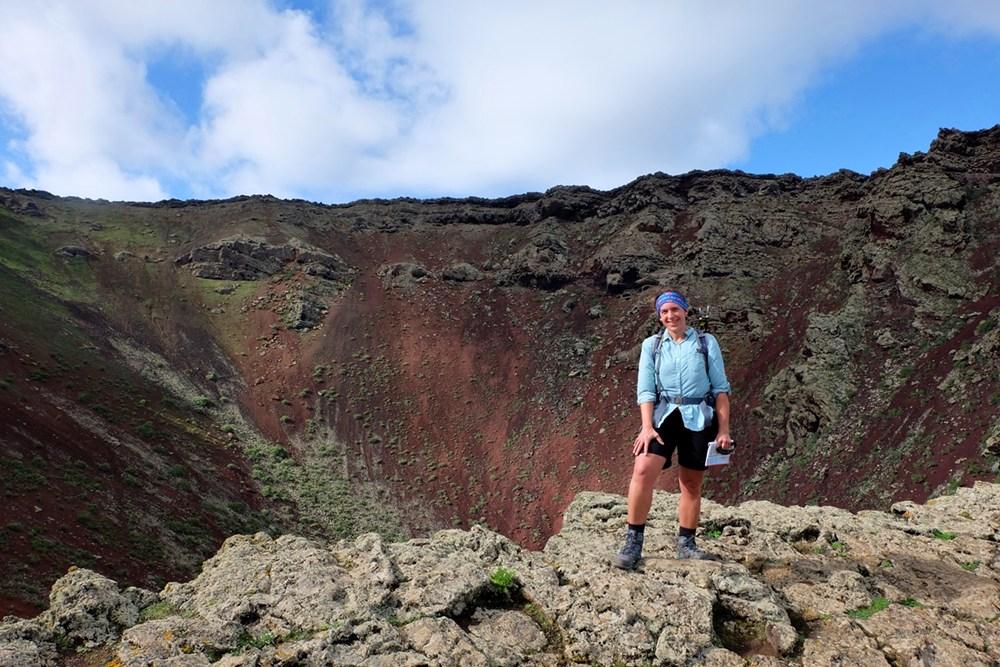 Kraterglück am Monte Corona
