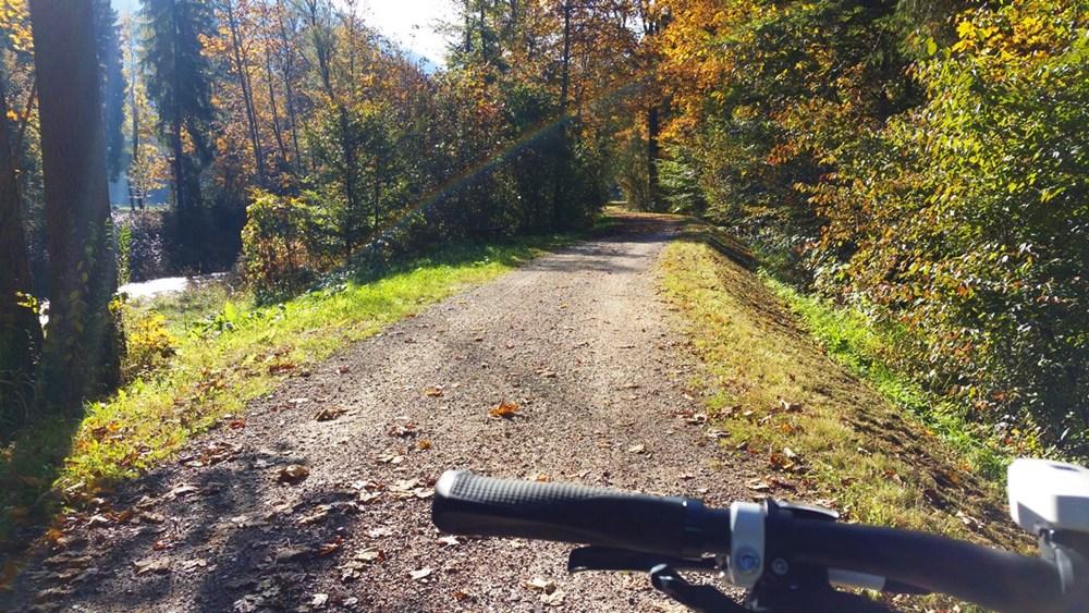 Radlweg von Ruhpolding nach Reit im Winkl