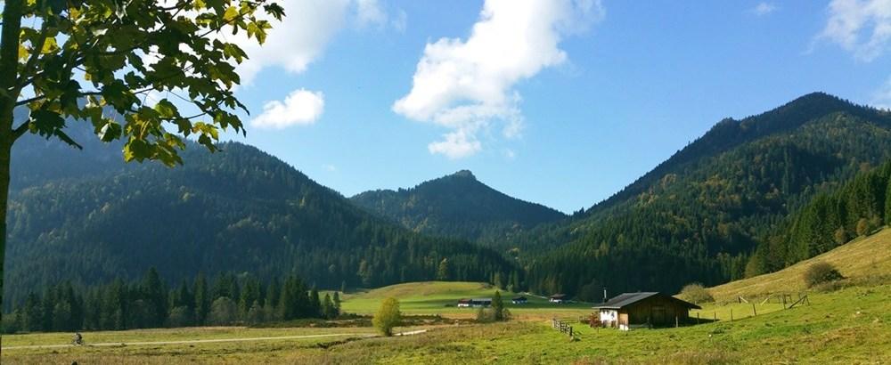 Mountainbiken für Anfänger (6): die Röthelmoos-Runde im Chiemgau