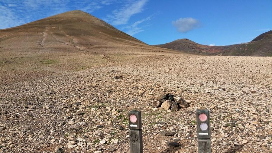 Wüstenlandschaft am Pico Redondo (561m)