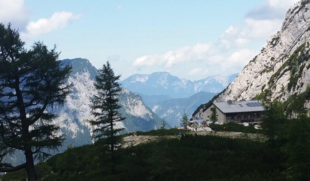 Blaueishütte in Sicht