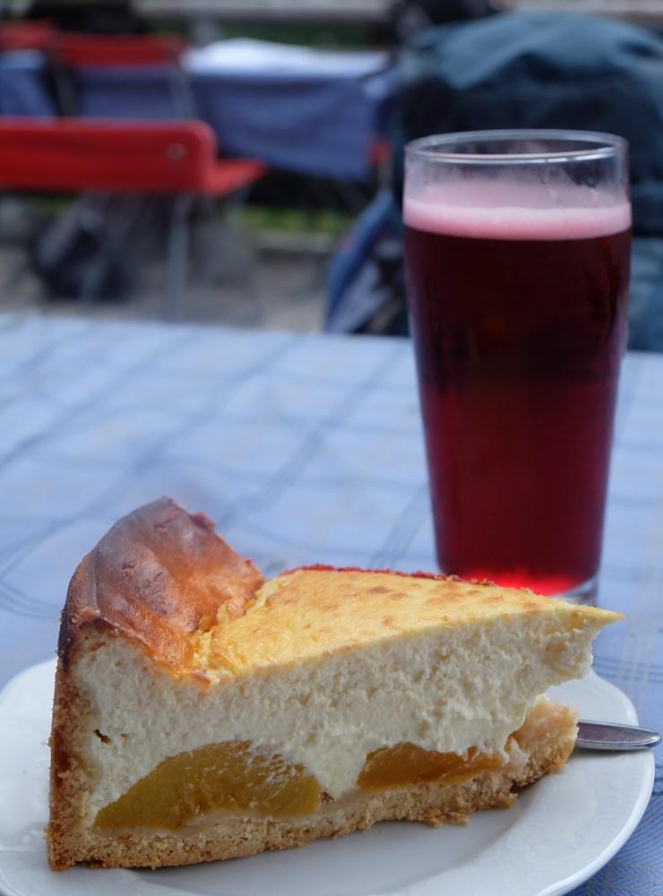 Kuchen auf der Blaueishütte