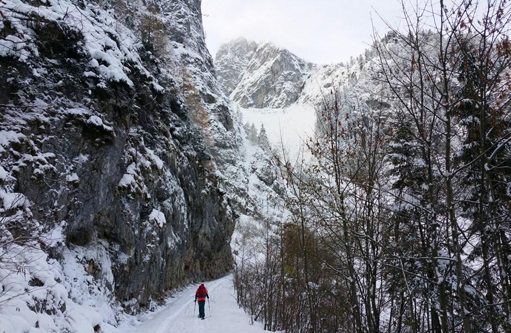 Winterwandern vom Feinsten. Im Nachhinein.