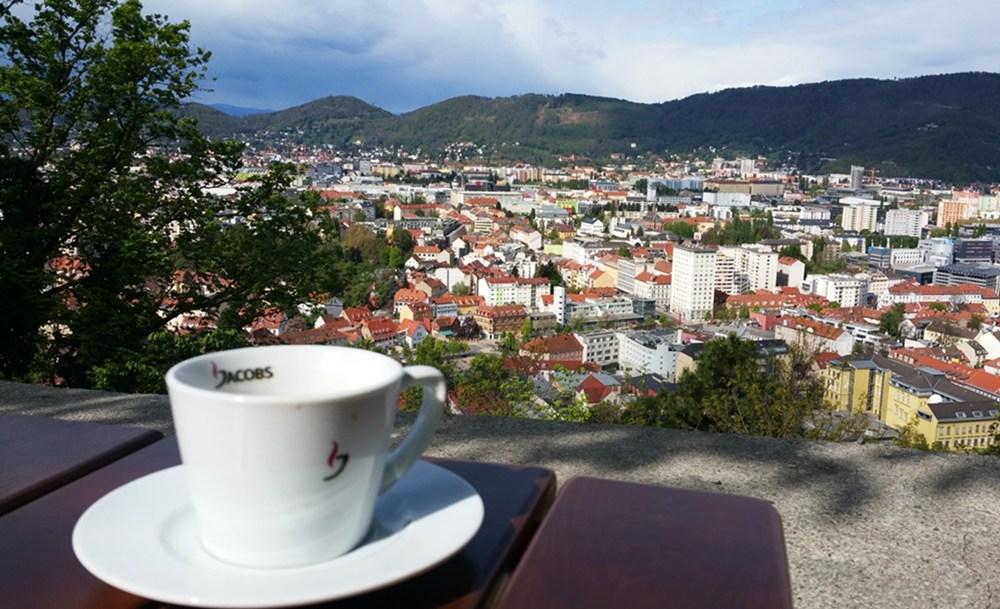Viel Kuchen, viel Aussicht: ein Wochenende in Graz
