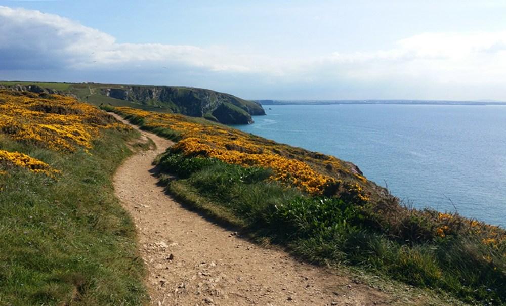 Wandern auf dem Coast Path in Cornwall