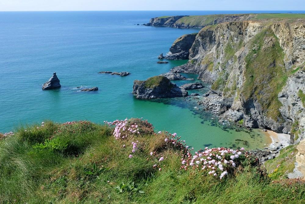 Die Schönheit der Küste in Cornwall