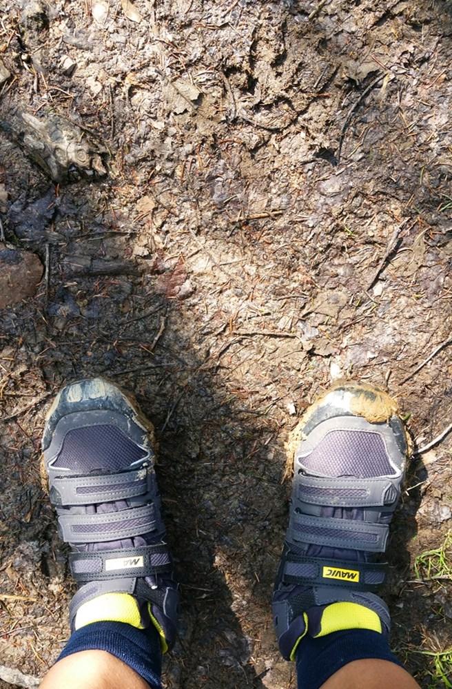 Zinnkopf - berggehen in Radl-Schuhen