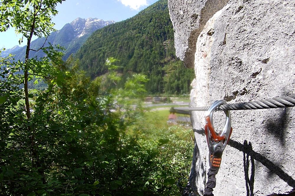 Zahme Gams Klettersteig in Weißbach bei Lofer