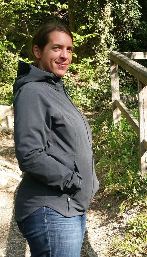 Neutral - die Jacke sieht auch bei Sonne gut aus