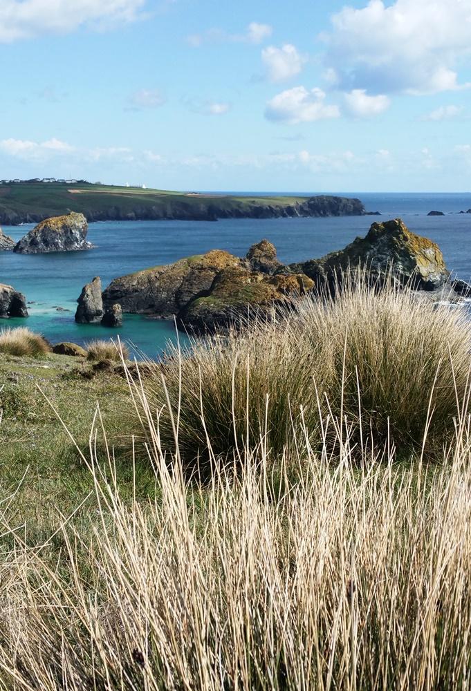 Wandern an der Südküste von Cornwall