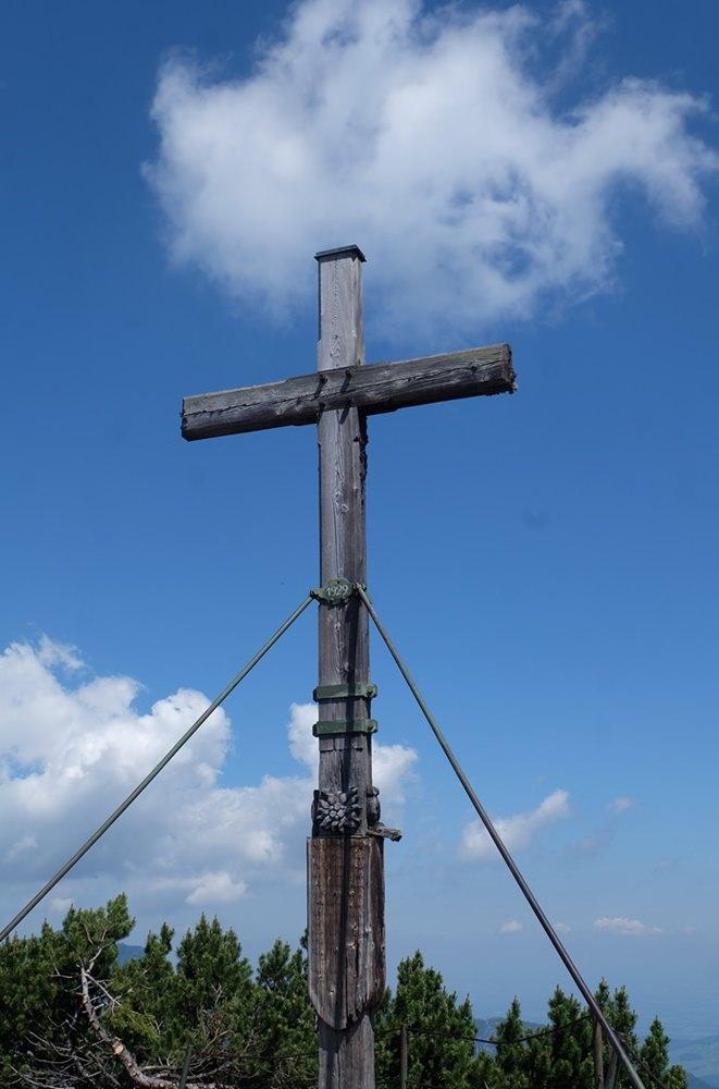 Gipfelkreuz am Hochschlegel