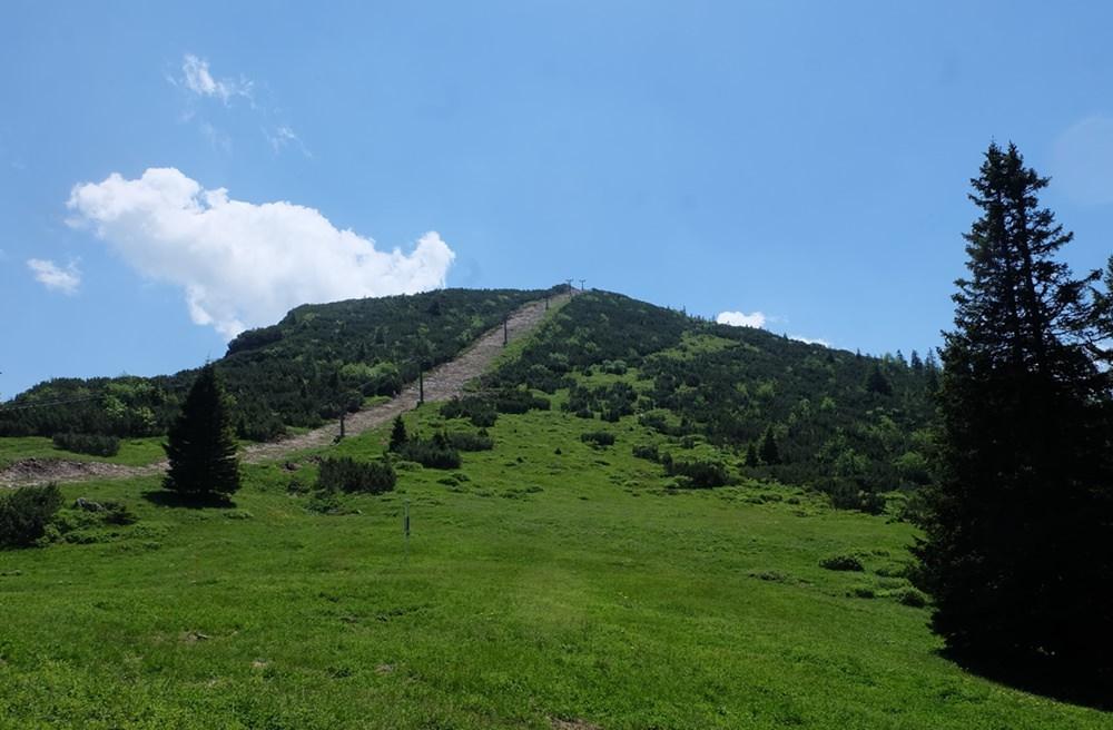 Hochschlegel Gipfel von der Schlegelmulde aus gesehen