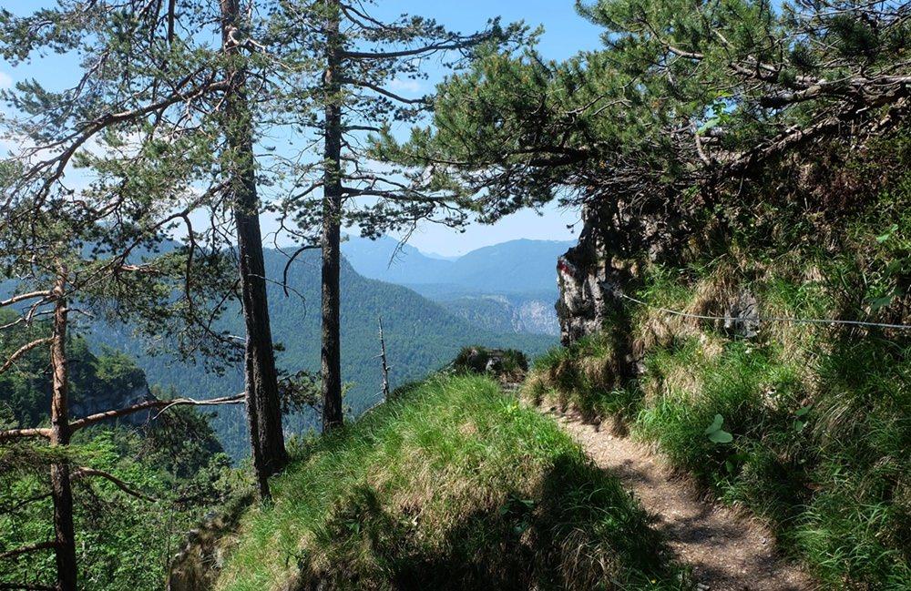 Gipfelbuch: Hochschlegel (1.688 m) über Waxriessteig