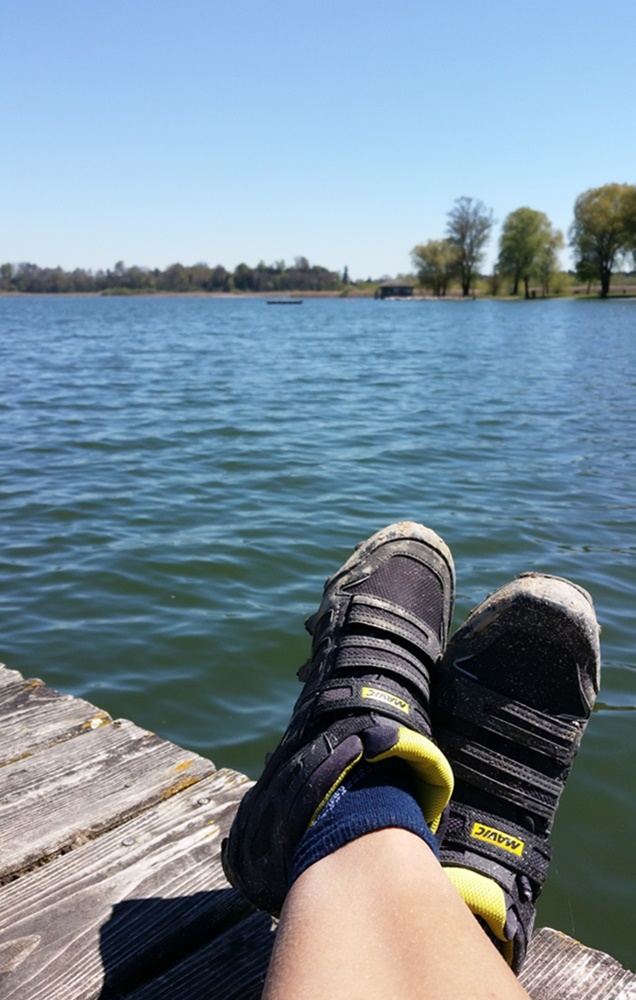 Radl Pause am Chiemsee
