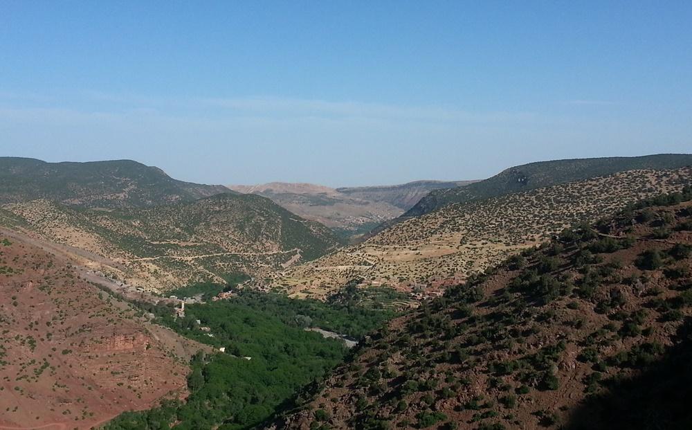 Gipfelglück in Marokko