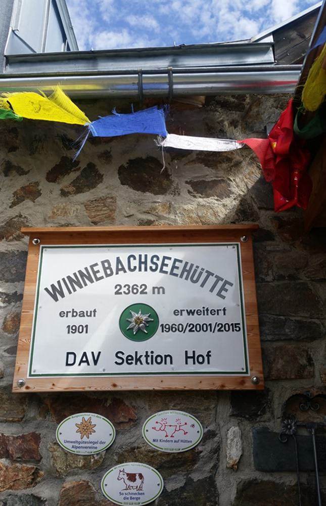 Winnebachseehütte im Ötztal/ Tirol