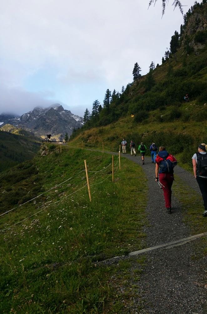 Morgens halb 8 an der Stabelealm/ Ötztal/ Tirol