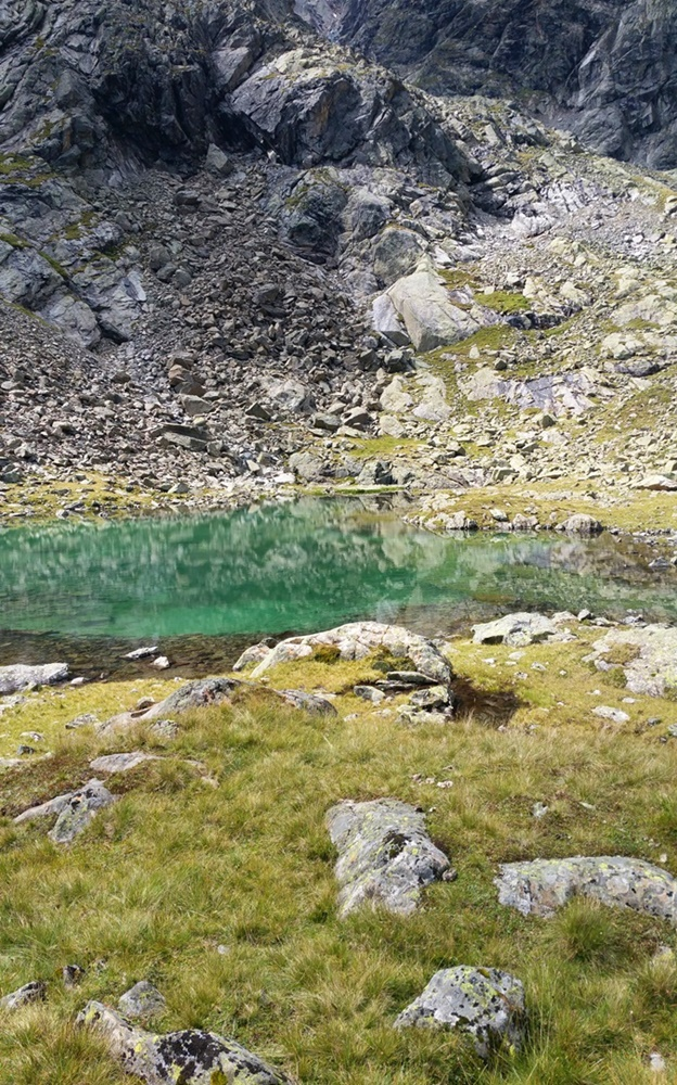 Unterer Spitzigsee im Ötztal