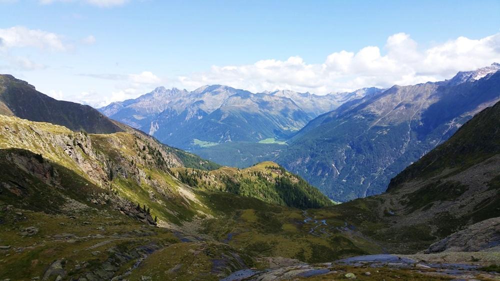 Blick Richtung Tal-Anfang des Ötztals